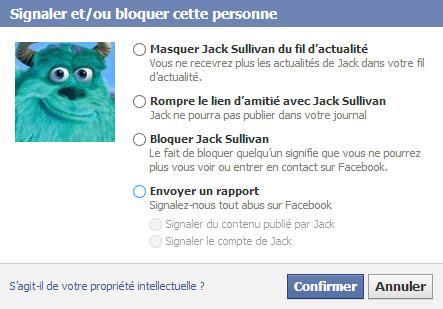 Bloquer un ami sur Facebook