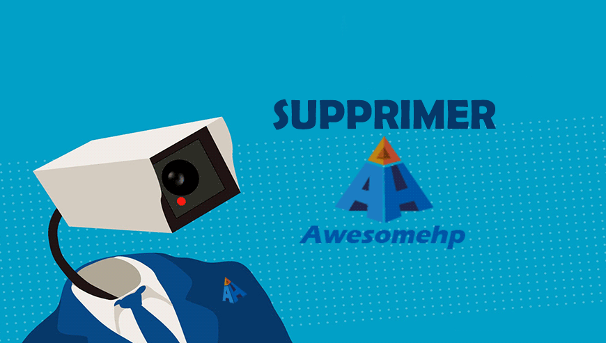 supprimer awesomehp