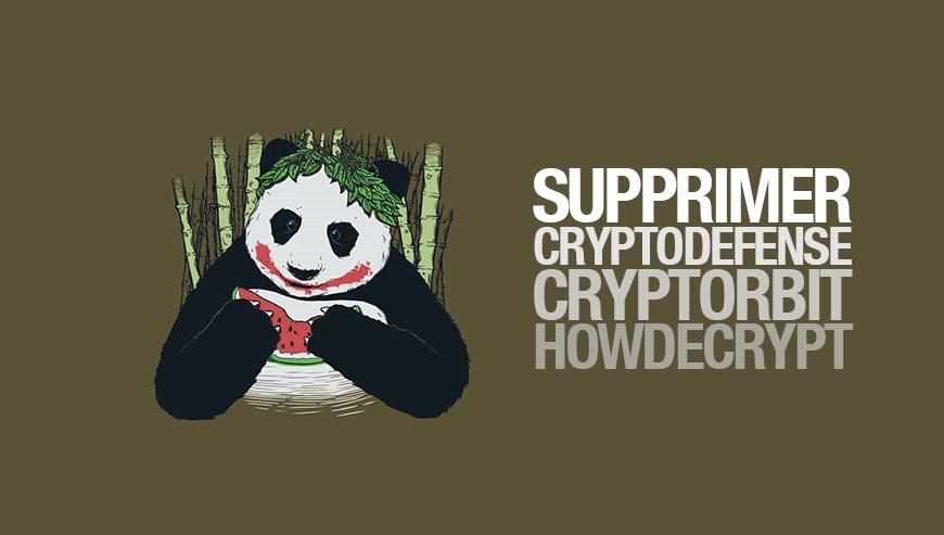 supprimer howdecrypt cryptodefense
