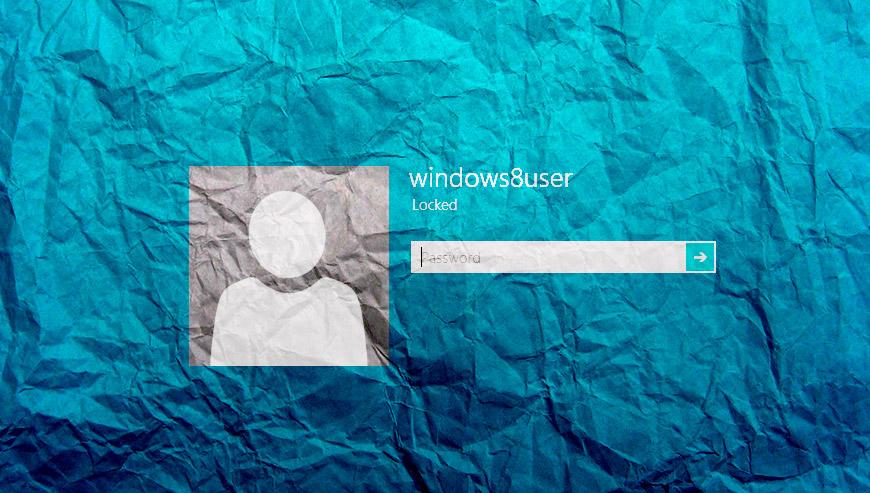 supprimer mot de passe windows 8