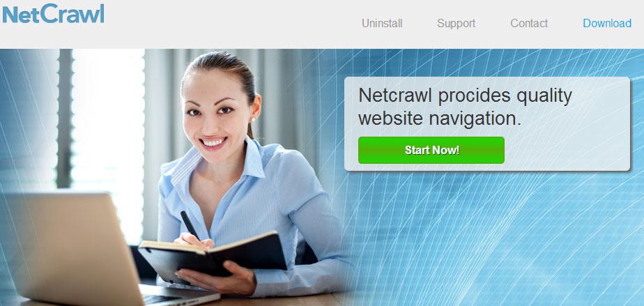 la page officielle de netcrawl