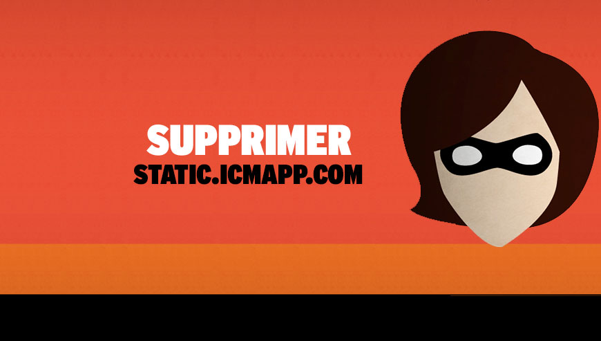 Supprimer static.icmapp.com