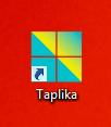 raccourci taplika sur le bureau