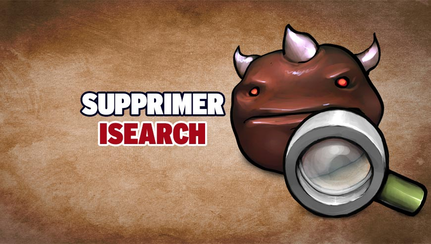 Supprimer isearch