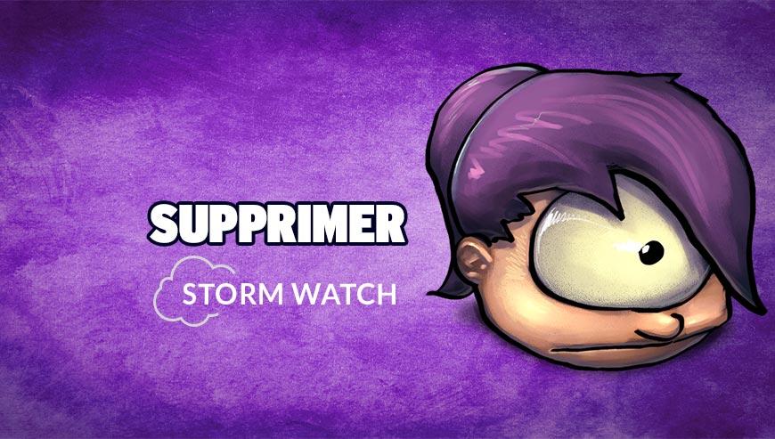 Supprimer StormWatch