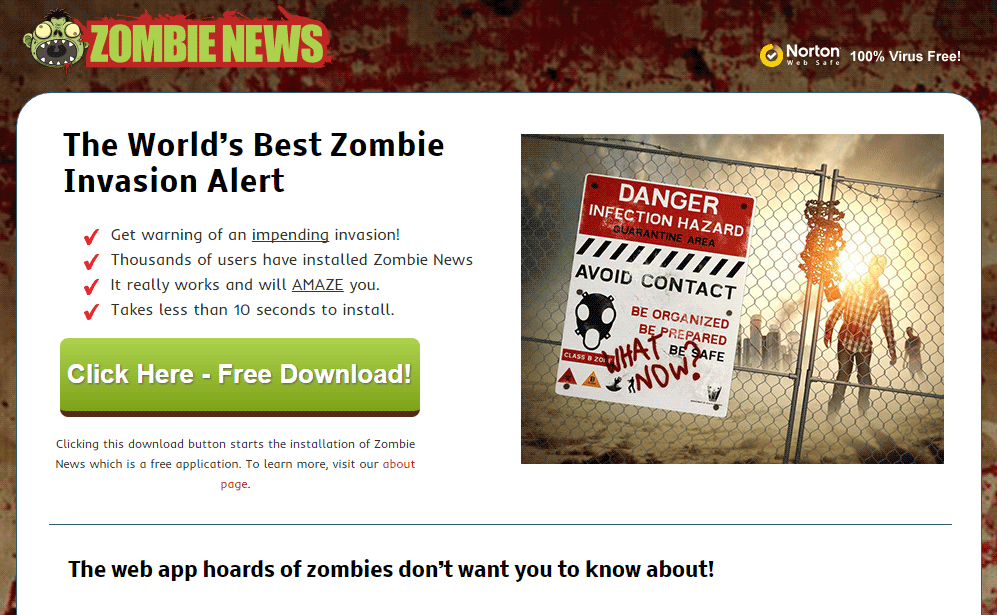 site de zombie news