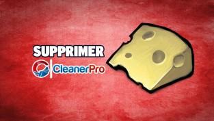 supprimer cleanerpro