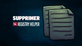 supprimer registry helper