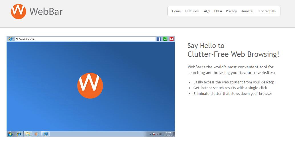 web-bar