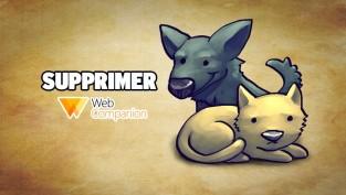 supprimer web companion