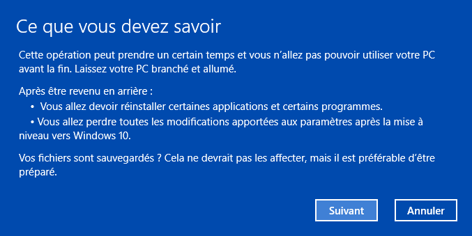 supprimer windows 10 étape 4
