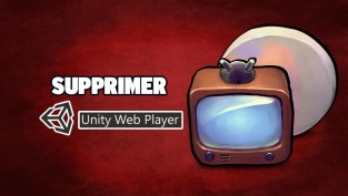 supprimer unity web player