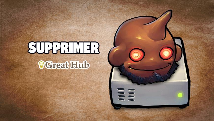 Supprimer Great Hub