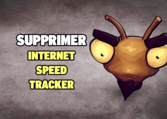 supprimer internet speed tracker