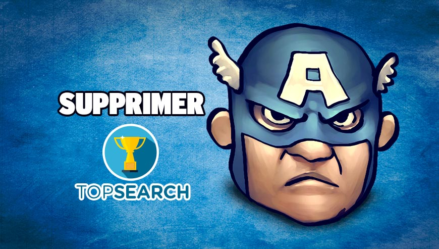 Supprimer TopSearch