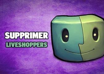 supprimer liveshoppers