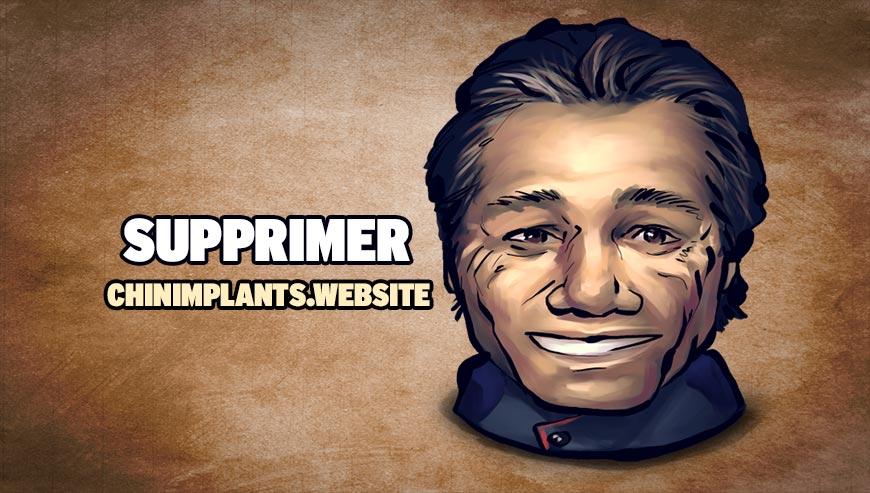 Supprimer chinimplants.website