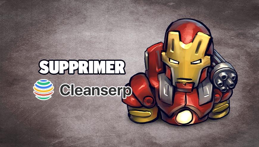 Supprimer cleanserp.net