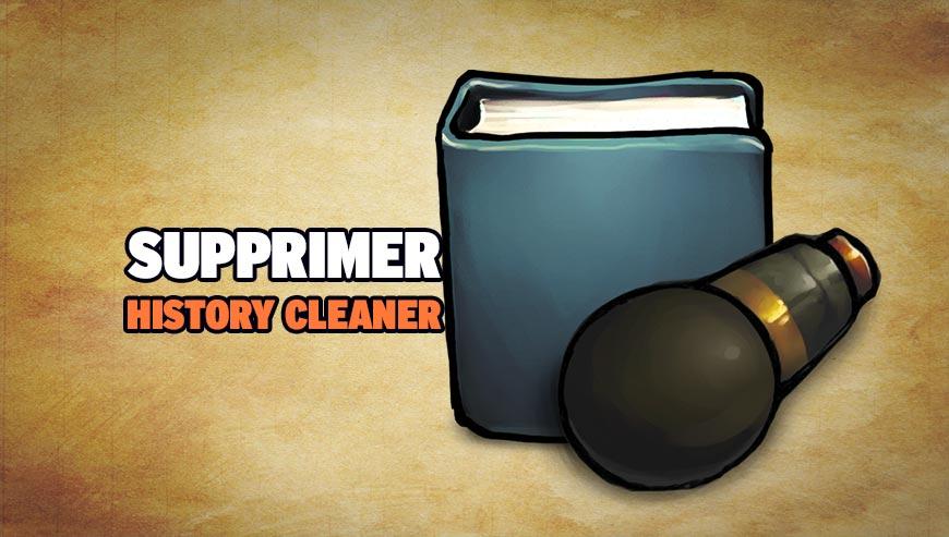 Supprimer History Cleaner