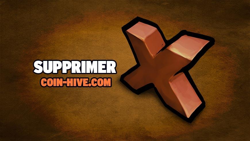 Supprimer Coin-hive.com