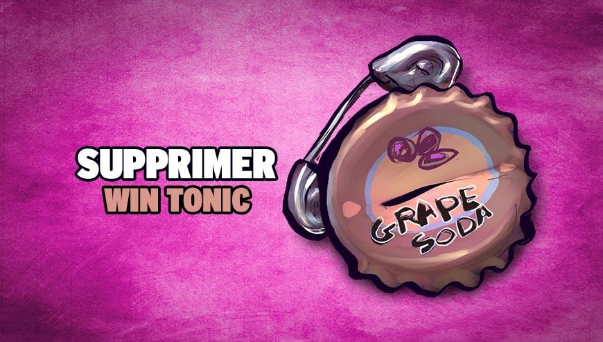Supprimer Win Tonic